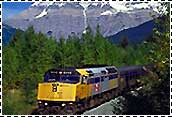 rail tours in the Canadian Rockies